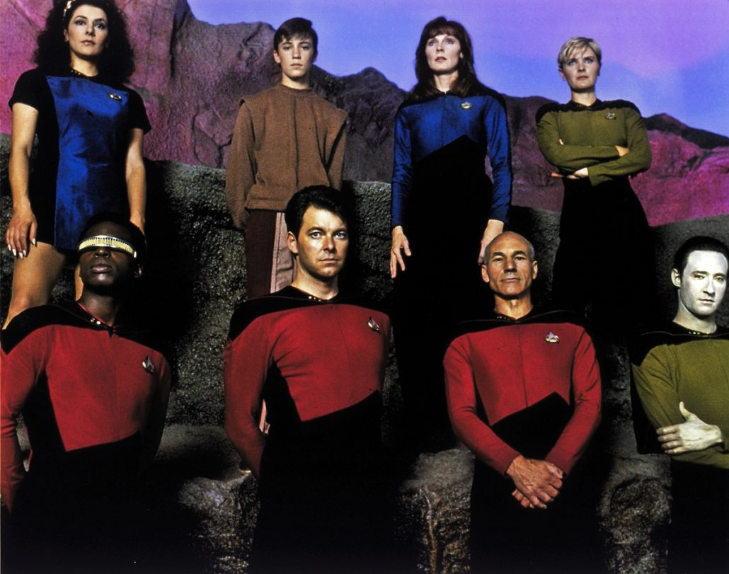 14 – Encounter At Farpoint – TV in Space